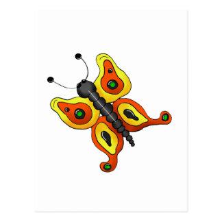Cochecillos del patio trasero · Mariposa amarilla Postales