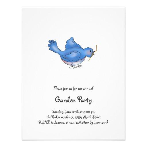 Cochecillos del patio trasero · Pájaro azul Comunicado