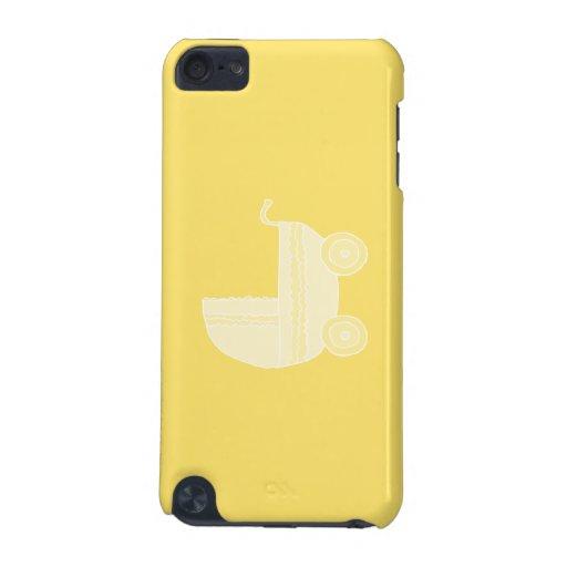Cochecito de bebé amarillo funda para iPod touch 5G