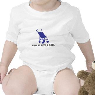 Cochecito de bebé - éste es cómo ruedo trajes de bebé