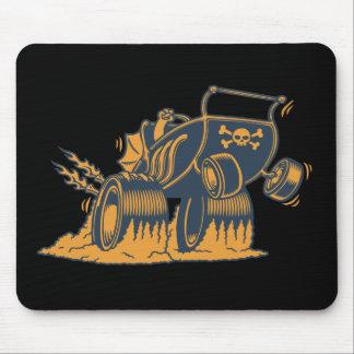 Cochecito del gran apostador mouse pad