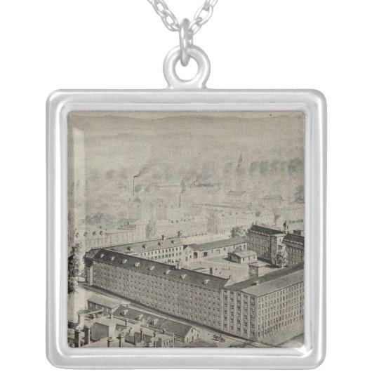 Cocheco Mfg Co Silver Plated Necklace