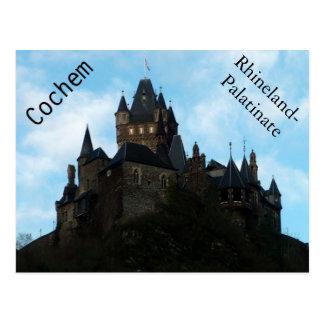 Cochem Castle in Germany Postcard