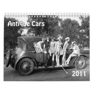 Coches antiguos 2011 calendarios de pared