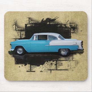 Coches clásicos 1955 del Aire del belio de Chevy M Tapete De Raton