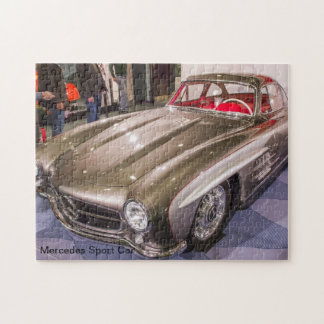 Coches clásicos - coche deportivo de Mercedes Puzzle