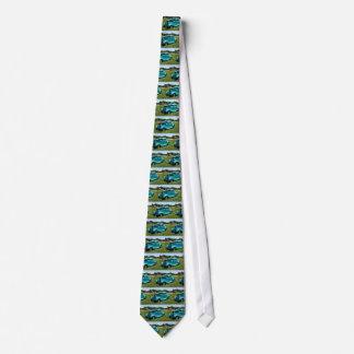 Coches clásicos corbatas personalizadas