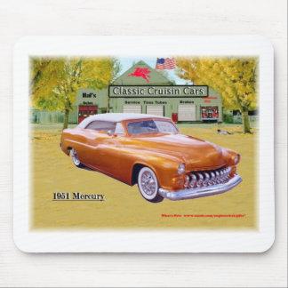 Coches clásicos de Cruisin Mercury 1951 Mousrpad Alfombrilla De Raton