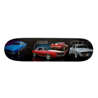 coches clásicos skateboards