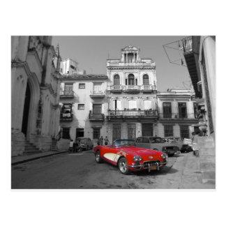 Coches cubanos 3 tarjetas postales