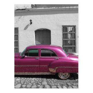 Coches cubanos 4 postales