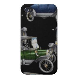 Coches de antaño iPhone 4 cárcasas