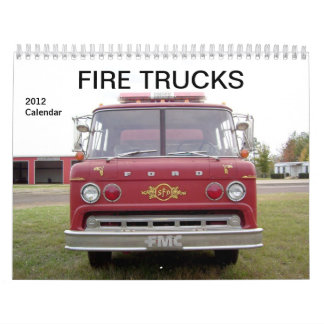 Coches de bomberos - calendario 2012