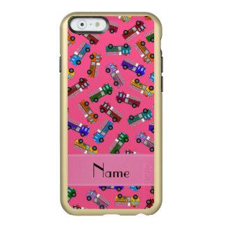 Coches de bomberos rosados conocidos funda para iPhone 6 plus incipio feather shine