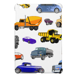 coches de carreras del autobús de la niveladora