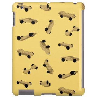 Coches de Derby en el oro Funda Para iPad