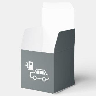 Coches de los combustibles mínimos caja para regalo de boda