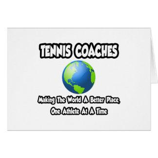 Coches de tenis… que hacen el mundo un mejor lugar tarjeton