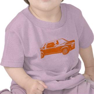 coches del americano de los años 80 camiseta