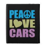 Coches del amor de la paz