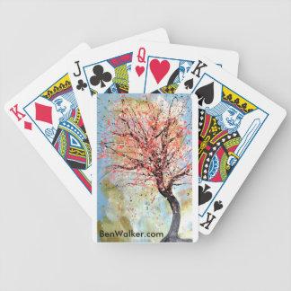 Coches del caminante de Ben Baraja Cartas De Poker