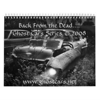 Coches del fantasma .......... traseros de los mue calendarios de pared