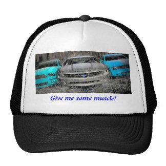 coches del músculo de 2011 gorros