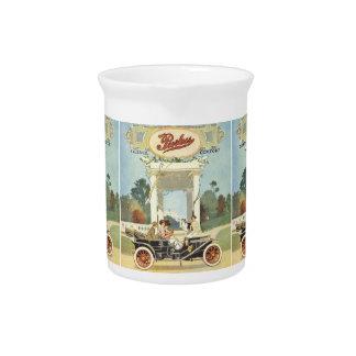 Coches del vintage jarras para bebida