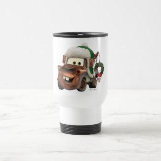 Coches el   Mater en engranaje del invierno Taza De Viaje
