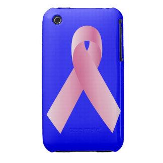 Coches para una campaña de la cinta del cause_Pink iPhone 3 Case-Mate Protector