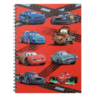 Coches Spiral Notebooks