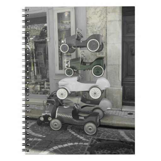 coches viejos libretas espirales
