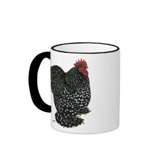 Cochin:  Black Mottle Coffee Mug