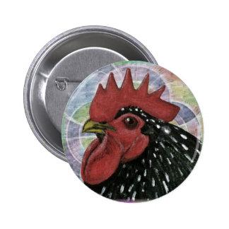 Cochin:  Cabeza decorativa del gallo Pin