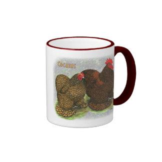 Cochin:  Golden-laced2 Mug