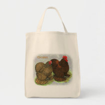 Cochin:  Golden-laced2 Tote Bag