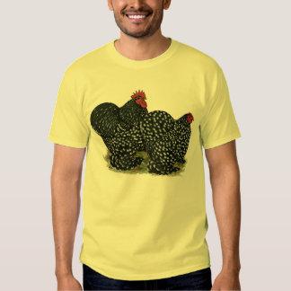 Cochin Mottled Chicken Pair T-Shirt