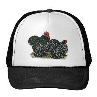 Cochin Mottled Chicken Pair Trucker Hat