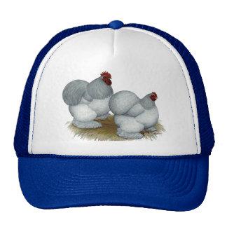 Cochin:  Self Blue Mesh Hat