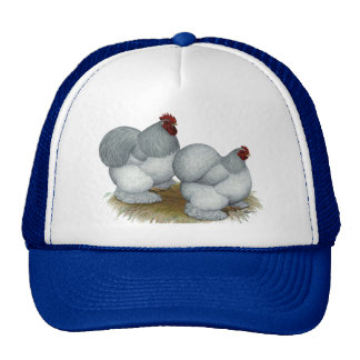 Cochin:  Self Blue Trucker Hat