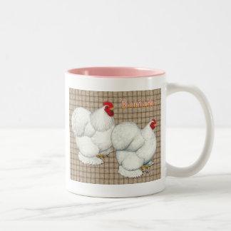 Cochin:  White Bantams Coffee Mug