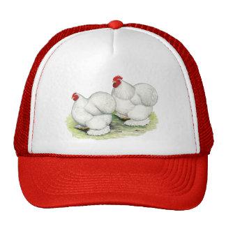 Cochin:  White Bantams Trucker Hat