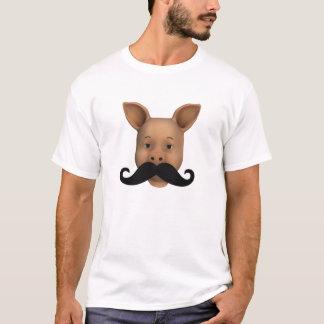 Cochinillo con el bigote playera