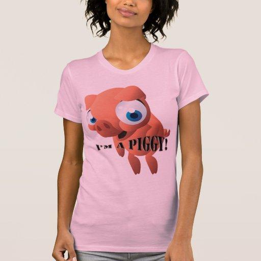 Cochinillo lindo camiseta