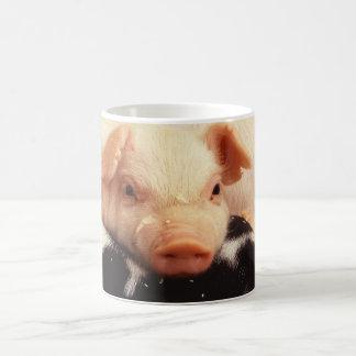 Cochinillo perezoso taza clásica