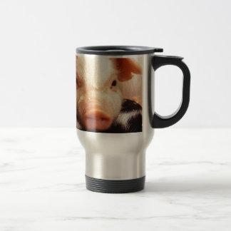 Cochinillo perezoso taza de viaje