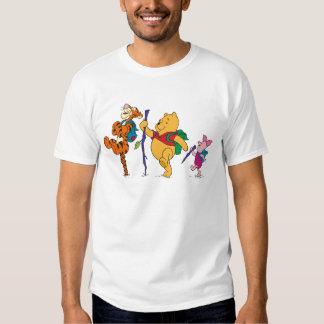 Cochinillo, Tigger, y el caminar de Winnie the Remeras