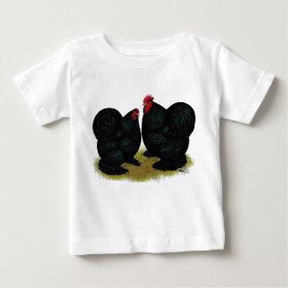 Cochins Black Bantam Pair Baby T-Shirt
