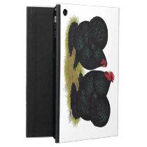 Cochins Black Bantam Pair iPad Air Cover