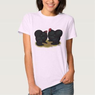 Cochins Black Bantam Pair T-Shirt